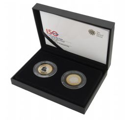 2013 Silver proof £2 x 2 Coin Set for sale